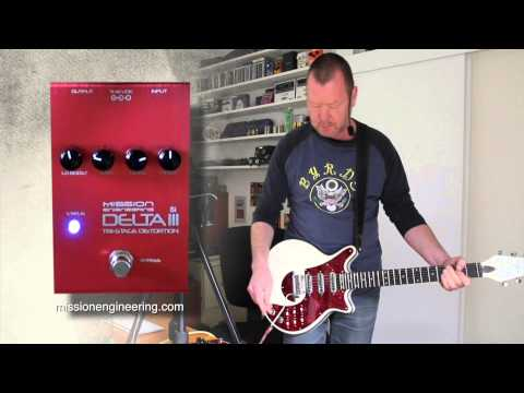 Mission Engineering: Delta III Si Distortion/Boost/Fuzz - Demo