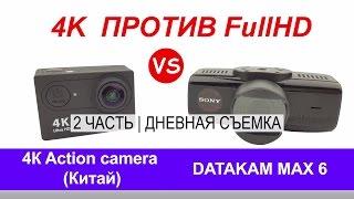 DATAKAM 6 MAX: наш FullHD и китайский 4К | 2 Часть | Дневная съемка