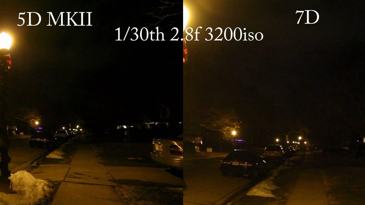 Canon 7d V.s. 5d mark II Same lens Same settings at the same time 1080p - YouTube & Canon 7d V.s. 5d mark II Same lens Same settings at the same time ... azcodes.com
