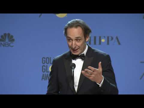 The Shape of Water Composer Alexandre Desplat  Golden Globes 2018