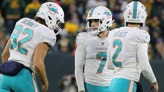 Miami Dolphins Jason Sanders talks making four field goals against