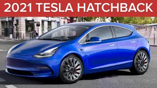 LEAKED Tesla Model 2 in 2021?