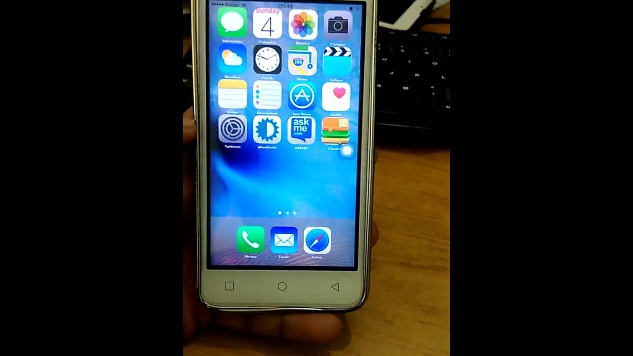 Apple IOS 9 in Micromax Canvas Spark Hack Rom - Techy Mobi