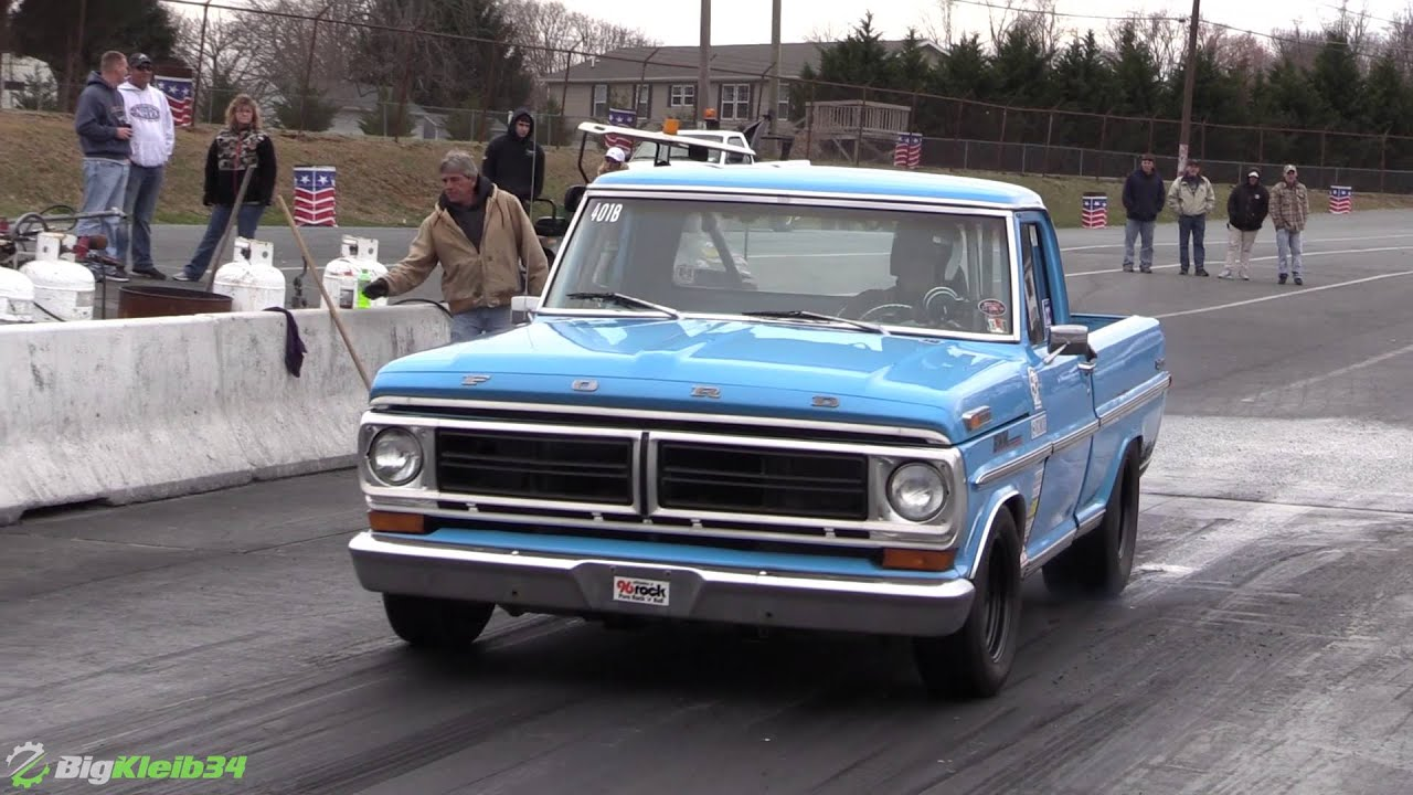 This Old School Ford Pickup is Quicker than it Looks! - YouTube