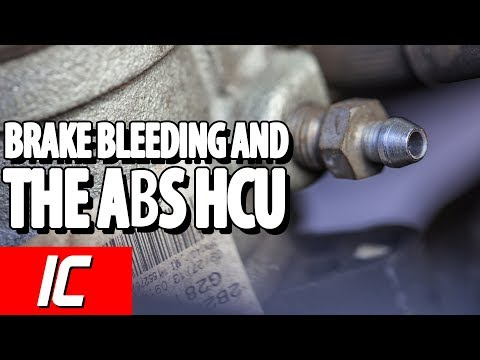 Brake Bleeding And The ABS HCU | Tech Minute