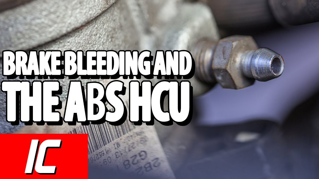 Brake Bleeding And The Abs Hcu Tech Minute