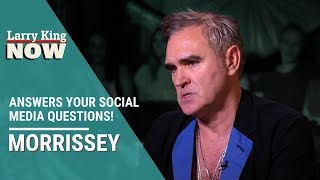 Morrissey Answers Your Questions from Social Media