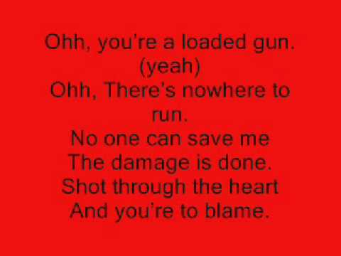 You Give Love a Bad Name (with lyrics)