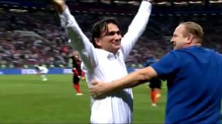 Хорватия - Англия 2:1 - Обзор голов матча 1/2 финала ЧМ 2018