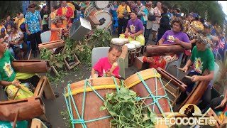 Junior Cook Island Drumming Competition Te Maeva Nui 2015