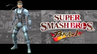 Super Smash Bros Brawl All Snake Codecs Exhibition Full HD
