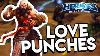 Heroes of the Storm (HotS) | I PUNCH YOU TO HEAL YOU | Kharazim Gameplay ft. Sinvicta