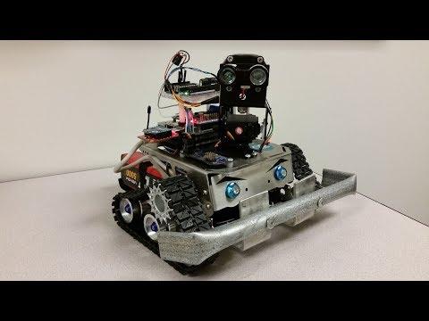 Raspberry Pi Robotics - High Trust IoT M2M Protocol