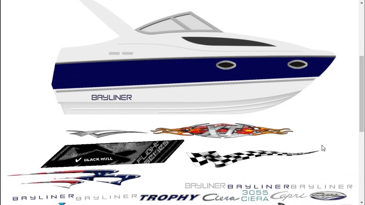 Nitro Boat Decals & Stickers