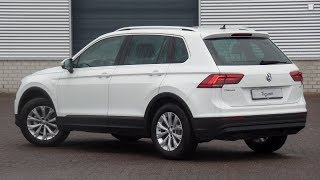 Volkswagen NEW Tiguan 2018 Comfortline Pure White 17 inch Montana Walk around & inside detail