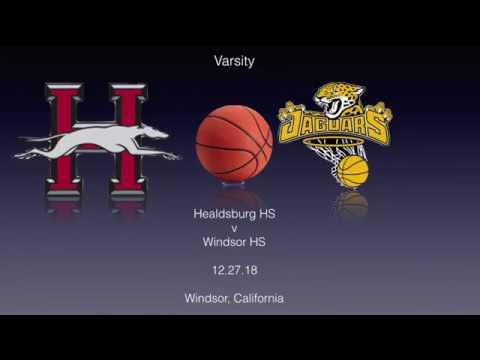 Healdsburg High School v Windsor High School (V) 12.28.18