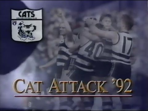 'Cat Attack 92' - Geelong Football Club 1992 AFL season video