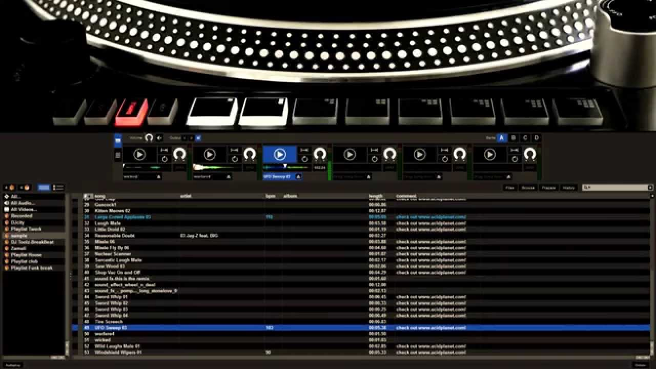 Reloop RP8000 with Serato DJ: Sample & Roll (3/5) - YouTube