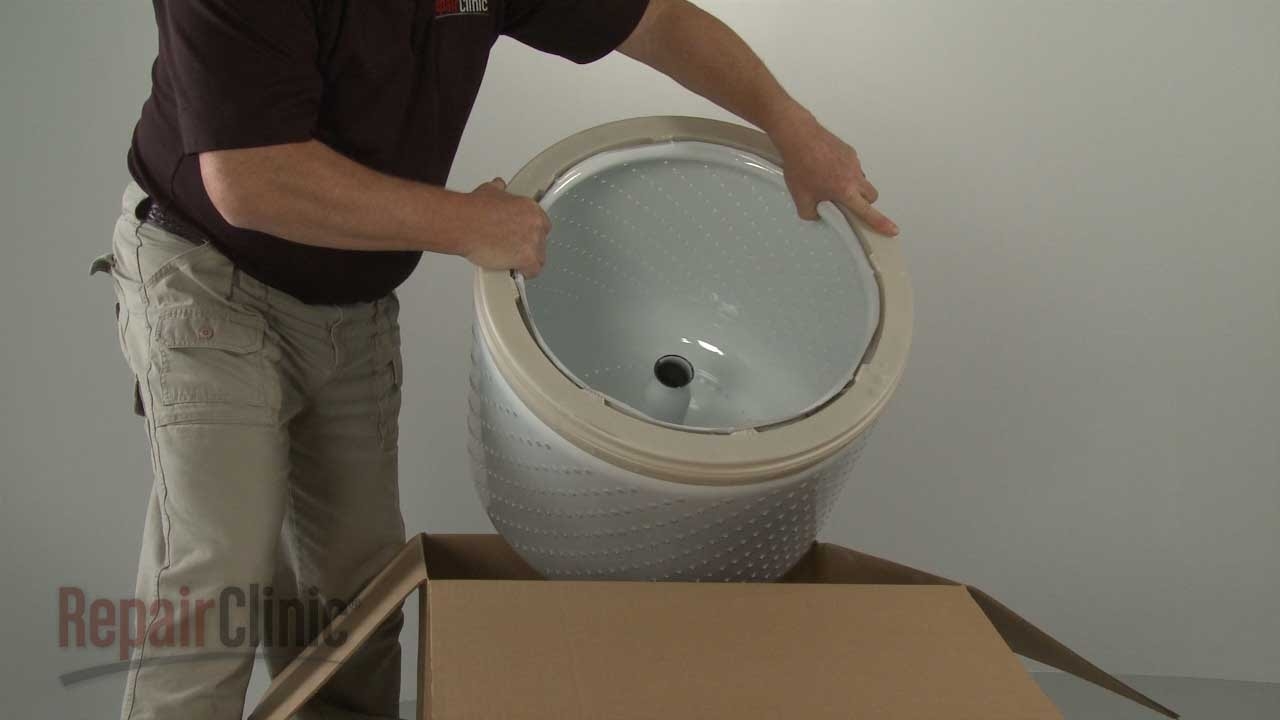 Kenmore Washer Repair >> Kenmore Top Load Washer Inner Tub Replacement #W10389328 - YouTube