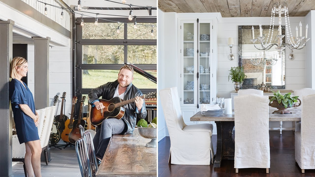 Interior Design: Johnny Reidu0027s Stunning Nashville Farmhouse