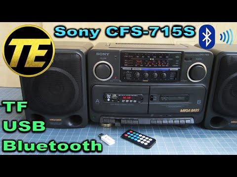 Sony CFS-715S - Mp3 + Bluetooth Hack