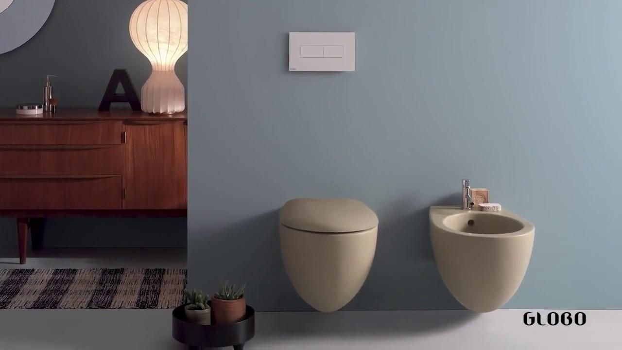 Ceramica Globo Bagno di Colore - YouTube