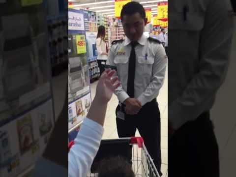 Reema and Haya opening Carrefoure supermarket-Dubai