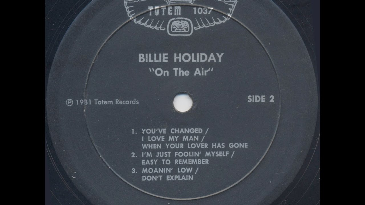 When your love has gone billie holiday