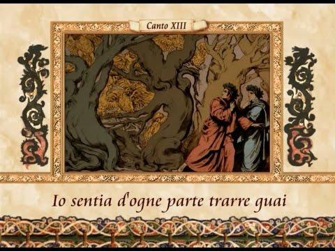 La Divina Commedia in VERSI - Inferno, canto XIII (13)
