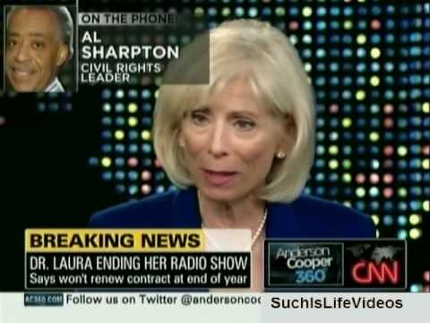 AC360 - Dr. Laura Ending Her Radio Show