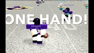 ONE HANDED CATCH! {Roblox} Legendary Football Highlights Pt.2