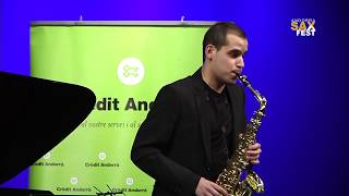 VICTOR PELLICER – 2nd ROUND – III ANDORRA INTERNATIONAL SAXOPHONE COMPETITION 2016