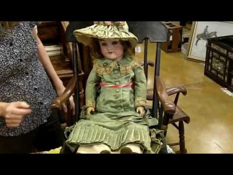 Antique Dolls from our antiques mall at Gannon's Antiques & Art