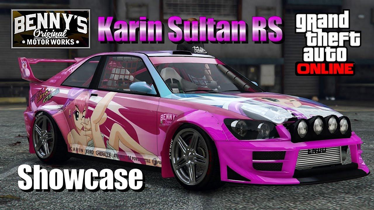 GTA 5 - New Karin Sultan RS Racecar Showcase - Benny's ...