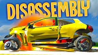 Disassembly 3D - Taking Apart Things & Blowing Them Up! - Fidget Spinner, Car, Safe & Train!