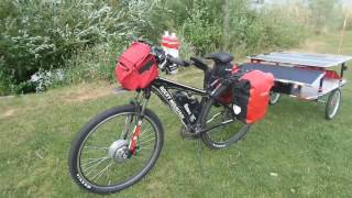 500 w Solar powered touring E- bike