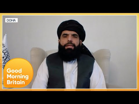 Taliban Spokesperson Urges People To Stay In Afghanistan Even If They Have Documents To Leave | GMB