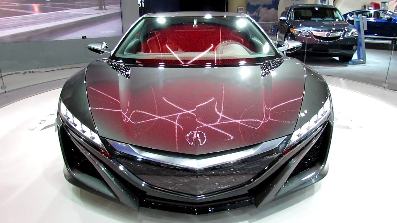 2014 Acura NSX Concept - Exterior and Interior Walkaround - 2013 ...