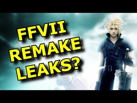 Are These Final Fantasy VII Remake Leaks REAL? - Rant Video