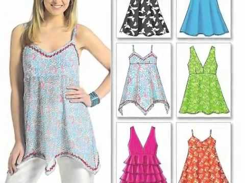 free sewing patterns - YouTube