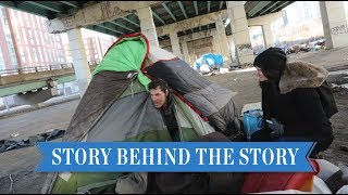 Giving a voice to those actually living under the Gardiner | Story Behind the Story