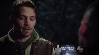 Once Upon A Time 4x17 | Robin Hood and Will Scarlet