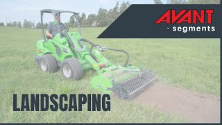 Avant landscaping video Thumbnail