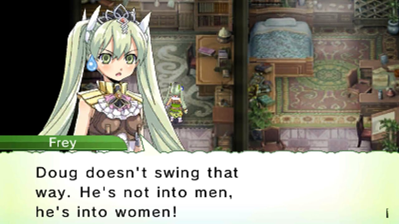 Rune Factory 4 Doug Events