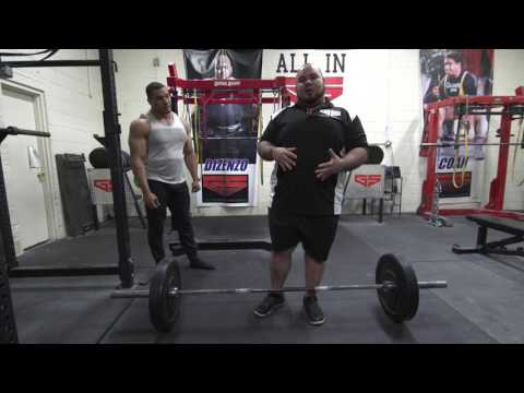 How to Deadlift without hurting your back with Larry Williams