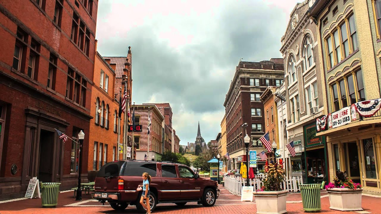 Downtown Cumberland Md Timelapse Clip Youtube