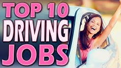 Top 10 Paid Driving Jobs (Paid to Drive Your Car)