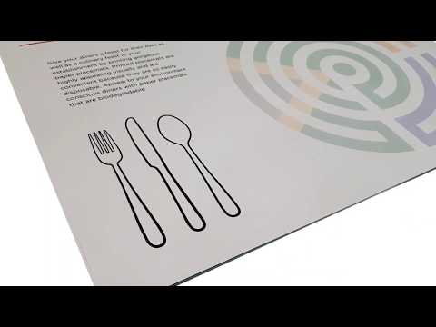 Paper Placemats | Affordable Placemat Printing