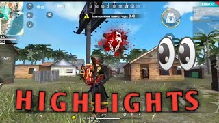Free Fire⚡HIGHLIGHTS 🎯🎯