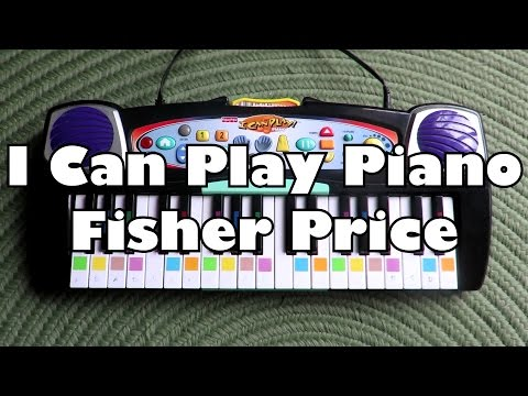 Video Game Nostalgia!! - I Can Play Piano Fisher Price